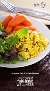 Effortless Vegan Turmeric Scrambled Tofu
